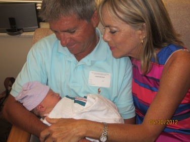 Harper Anne was born June 30, 2012. She is our first grandchild.